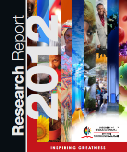 UKZN Research Report 2012